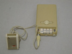 +++  1959.c. Minifon Attache = 1st european pocket cassette recorder