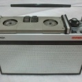 +++  1958.a. Saba TKR-15 Sabamobil = world's 1-st portable radio-cassette player