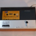 +++  1968.e.  Philips N2500 -  world's first  deck ''compact-cassette'' player