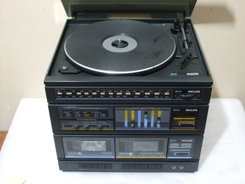 + 1985.b. Philips F1462 MIDI - 3 in 1 overlapped