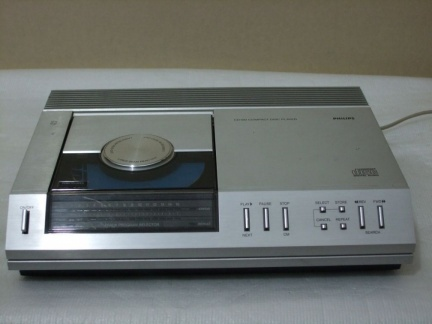 +++  1982.a. Philips CD100 = first CD in the world