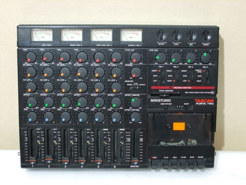 ++ 1987(?).b. Tascam Porta Two Ministudio
