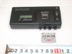 +++  1992.c. Sony NT-1 -smallest digital  cassette-recorder
