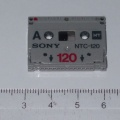 +++  1992.c.c.  Sony NTC  - smallest audio cassette ever made