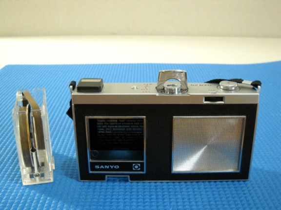 +++  1964.c. Sanyo M-35 Micro-Pack - first cart recorder w variable speed