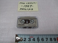 +++  1967.l.c. Philips LFH 0001 = first minicassette in the world