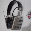++ 1982 h. Shebro PB-1 - microcassette player + FM radio headset