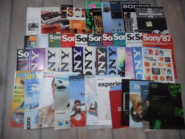 Sony - official catalogs 1966-2008