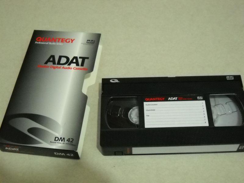 Afbeeldingsresultaat voor ADAT (Alesis Digital Audio Tape)